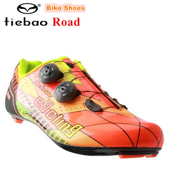 TIEBAO Carbon fiber road Cycling Shoes Men sneakers Women Breathable zapatillas deportivas mujer sapatilha ciclismo Bike Shoes
