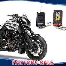 Motorcycle Security Kit Alarm System Anti-Hijacking Cutting Off Remote Engine Start Arming Disarming For Suzuki Honda Yamaha