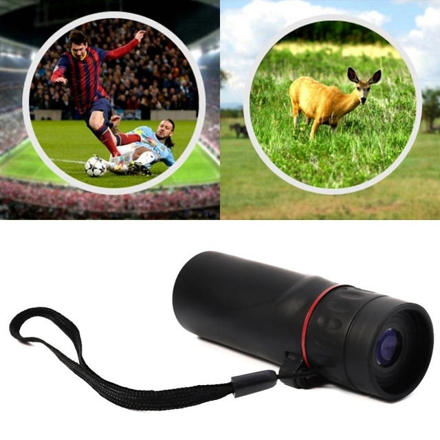 Monocular Telescope Low Night Light Vision 30x25 Hunting Concert Mini Portable