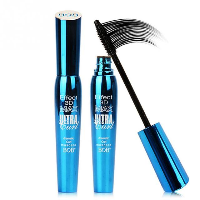 3d Fiber Lashes Rimel Mascara Makeup Ink Gel Natural Fibers