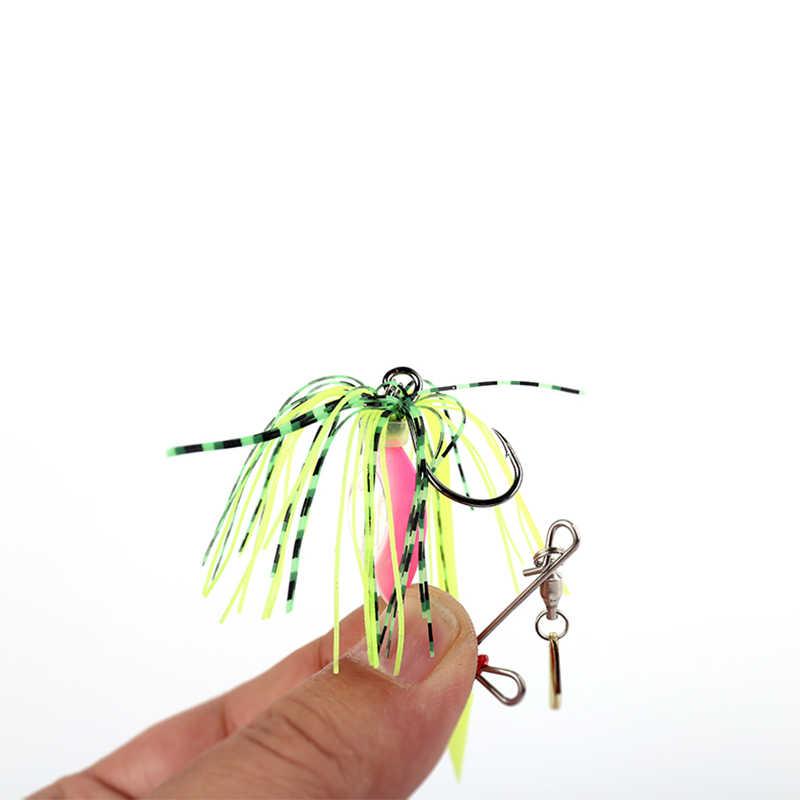 Королевство Bei Xuan и для ловли на спиннинг, рыболовная приманка приманки 1 шт./пакет металлические 6 г 13 вращающийся блёстки Buzzbait модель 4003 Рыбалка снасти