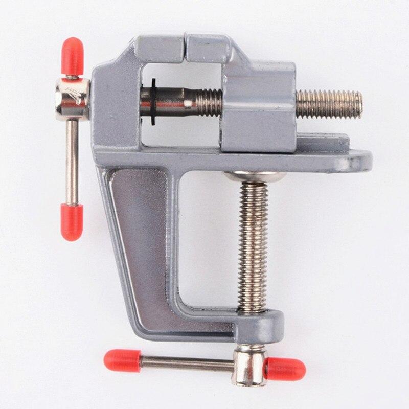 DIY tool mini table vise 5881 30MM aluminum alloy vise Bench Clamp Drill free shipping new mini vise diy tool aluminum alloy small vise