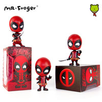 Mr.Froger Anime Action Figure Movie POP Hot Statue Bobble Head Toys For Cars Chibi Super Heroes Superheroes Anime Figurines DIY