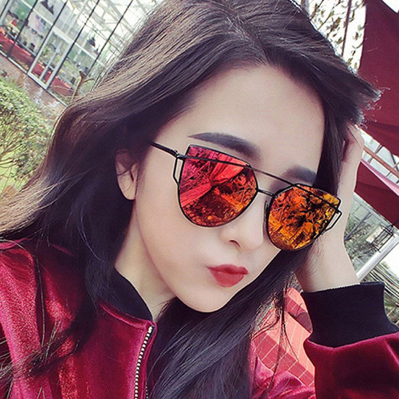 ZXWLYXGX 2018 men's women's sunglasses trendy retro fashion sunglasses colorful pop sunglasses  oculos de sol masculino