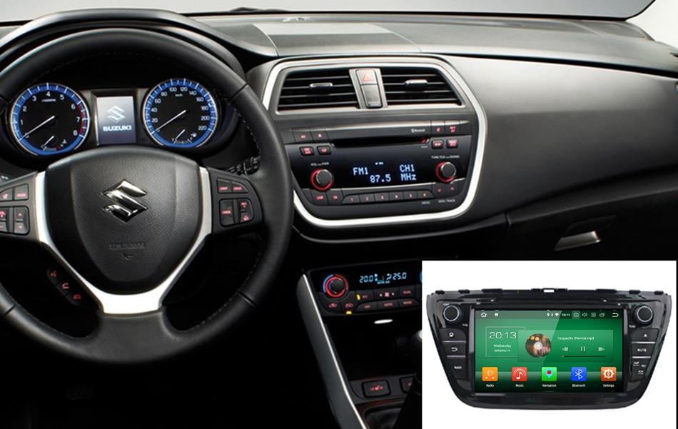GreenYi 4 GB RAM Android 8.0 Auto DVD GPS Multimedia Fit SUZUKI SX4 ...
