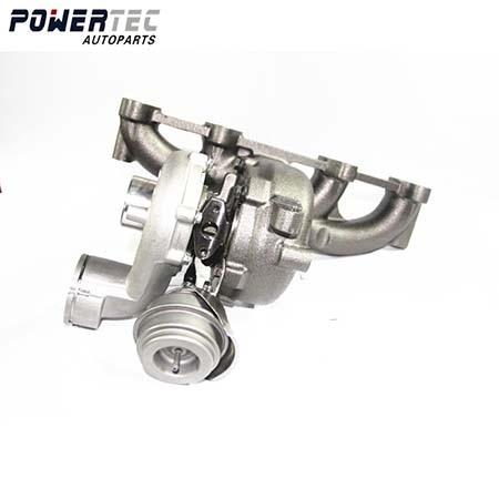 For VW Bora  Golf IV 1.9 TDI 110 Kw 150 HP ARL 2000-2005 Balanced Turbocharger 038253016D 721021 Turbine Full Turbo 721021-0002