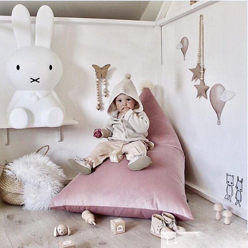 Baby Lazy Sofa Bean Bag Bed kids room window couch Reclining baby chair Lazybones sofa children mat