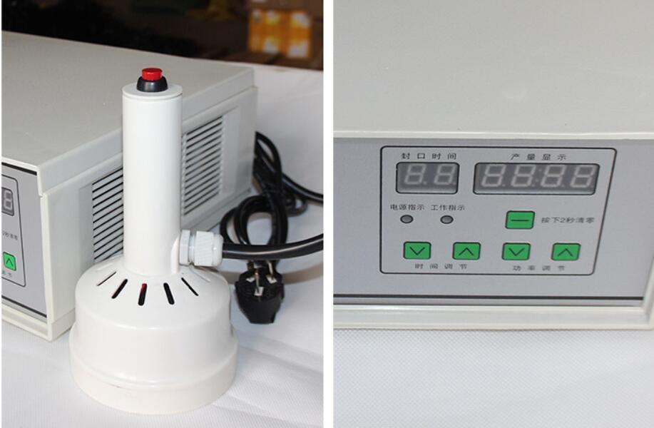 220 V tenuto in Mano induzione elettromagnetica di tenuta della macchina per il medico di plastica sigillante tappo di bottiglia di Alluminio macchina capsulatrice - 5