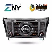 8 «ips Android 8,0 автомобиль DVD 2 DIN Авторадио для Nissan Qashqai X-Trail 2014-2017 мультимедиа FM видео gps навигации подарок камера