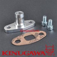 Kinugawa Kit Turbo Flange De Retorno Do Óleo a 20mm Barb para T04S Garrett T3 T4 T04B T04E/para Hitachi HT18 Turbo|flange connector|flange mount|flange protectors -