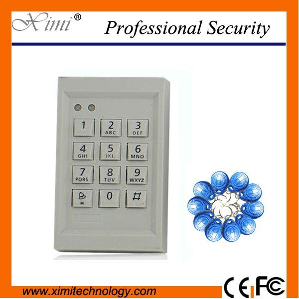 Swipe To Open The Door Single Door Access Control 125Khz Rfid Reader Independent Password Smart F011 Door Access Control Lock mc300 80ul access control single door 12v