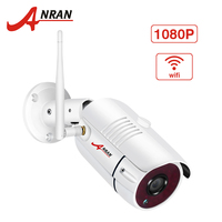ANRAN 1080P IP Camera Wifi Outdoor Waterproof HD Security Camera Wireless Surveillance Camera Built in SD Card Slot