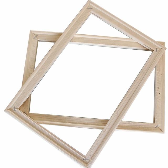 Simple 40*50 cm Wooden Frame DIY Picture Frames Art Suitable for ...