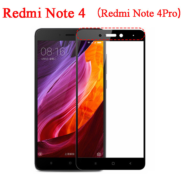 Kolor pełna pokrywa screen protector szkło hartowane dla xiaomi redmi 3 s 3x4 pro prime mi4 redmi note 4 3 2 mi5s mi5 mi 6 5S 5 mi6 1