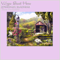 3d Diy Diamond Painting Diamond Embroidery Beautiful Landscape Cross Stitch Needlework Kit Material For Handmade Home