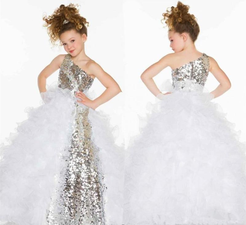 Robes Cher Petites Pageant 2015 Les Pour Paillettes Filles Pas wAqxPB