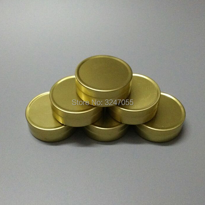 10G 30pcs 50pcs 100pcs Gold Empty Cosmetic Cream Jar, Ointment Storage Case, Lip Balm Sub Aluminum Pot, Round Aluminum Jar sumifun 100% original 19 4g red white tiger balm ointment thailand painkiller ointment muscle pain relief ointment soothe itch