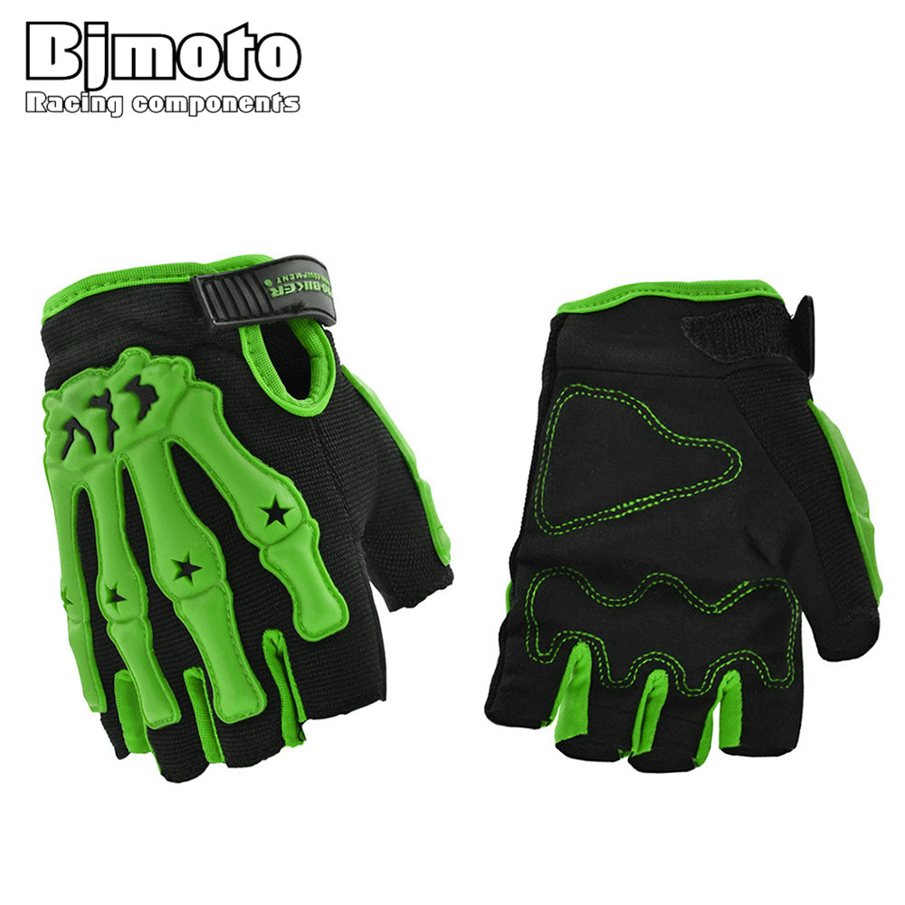 Driving gloves wholesale - New Mens Outdoor Sports Gloves Half Finger Motorcycle Gloves No Slip Cycling Driving Gloves