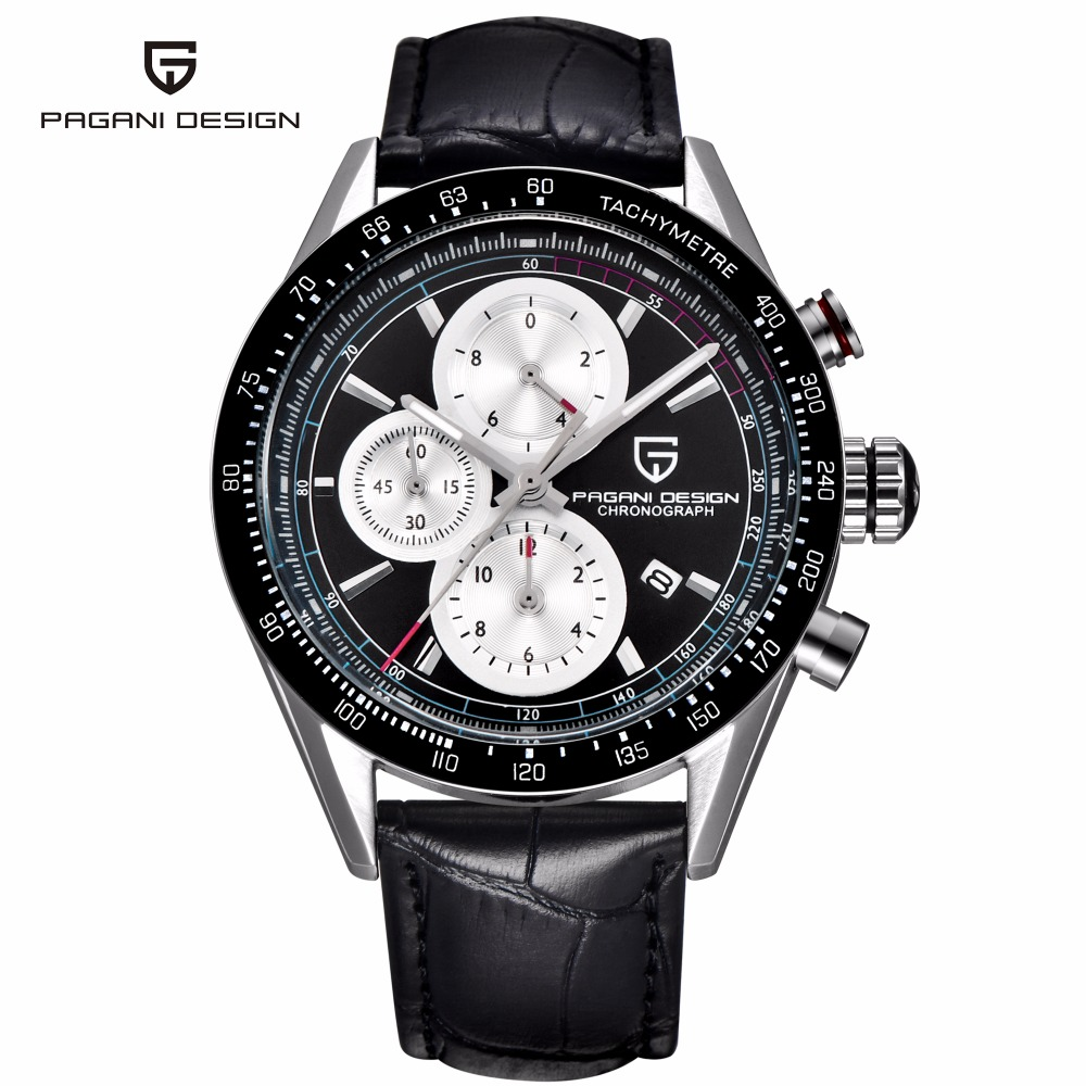 PAGANI DESIGN Sport Watch Multifunctional