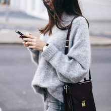 Zogaa Spring Autumn Winter Warm Casual Women's Clothing O-Neck Long Sleeve Knitted Sweater Pullover Loose Jumper Tops Knitwear