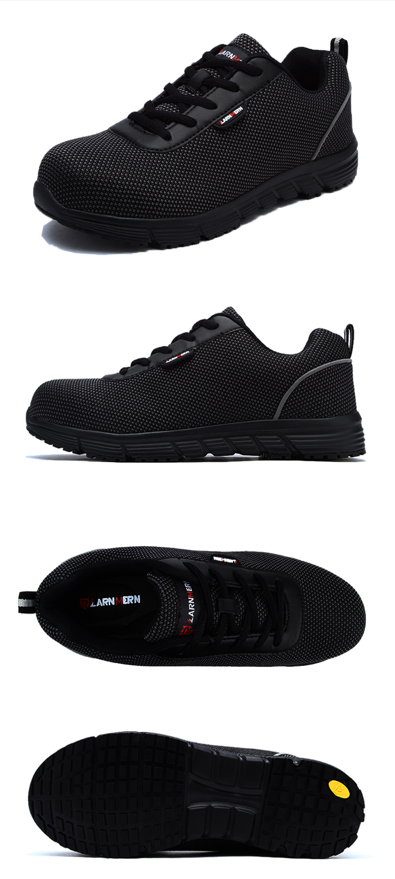 7c5d27746 Oakbayshoes The Most Comfortable Work Shoes Black Steel Toe Sneakers ...