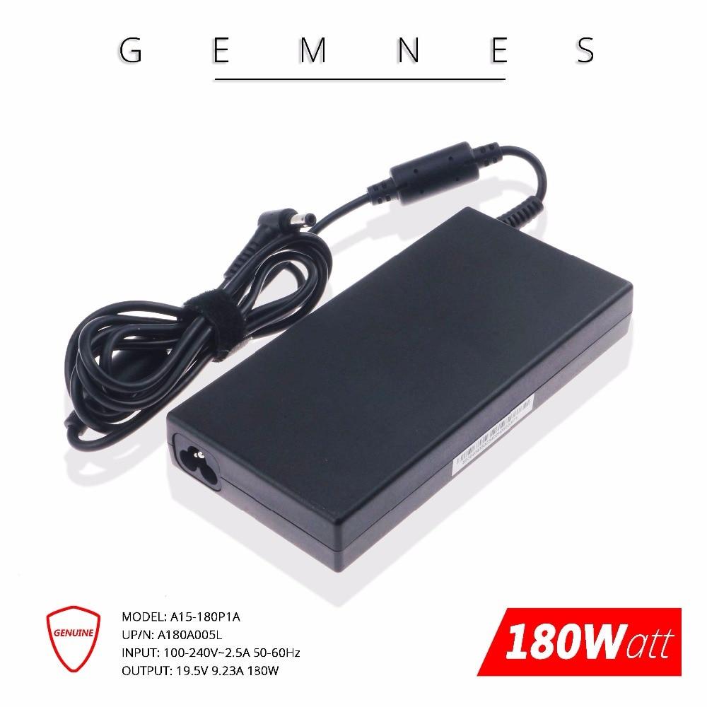 D'origine 180 W 19.5 V 9.23A chargeur pour ordinateur portable Adaptateur secteur pour MSI GE72VR GS63VR Chicony A15-180P1A A180A005L - 2