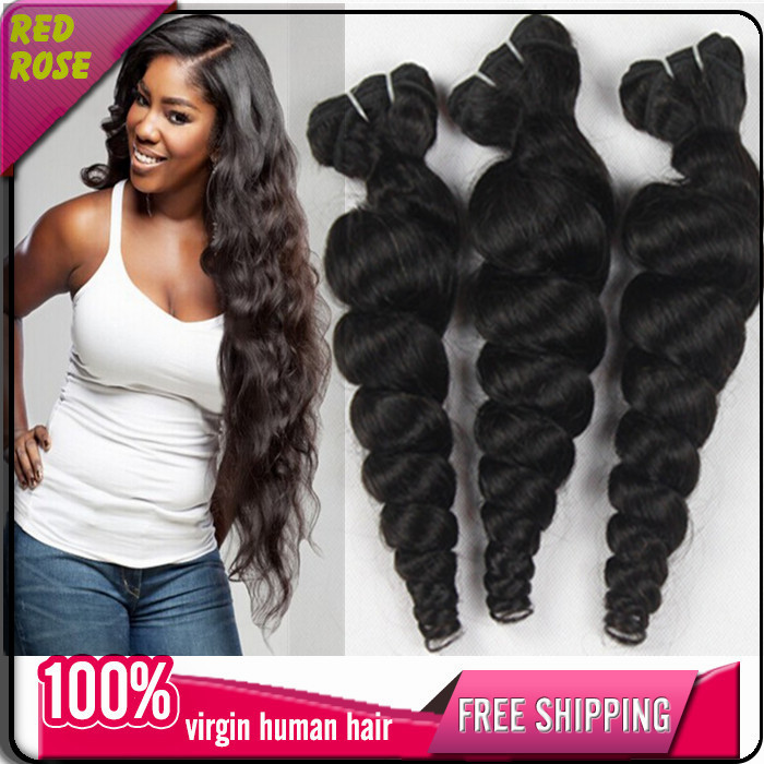 Ali Moda 7a Mongolian Loose Wave Tangle Free Cheap Human Hair Weave