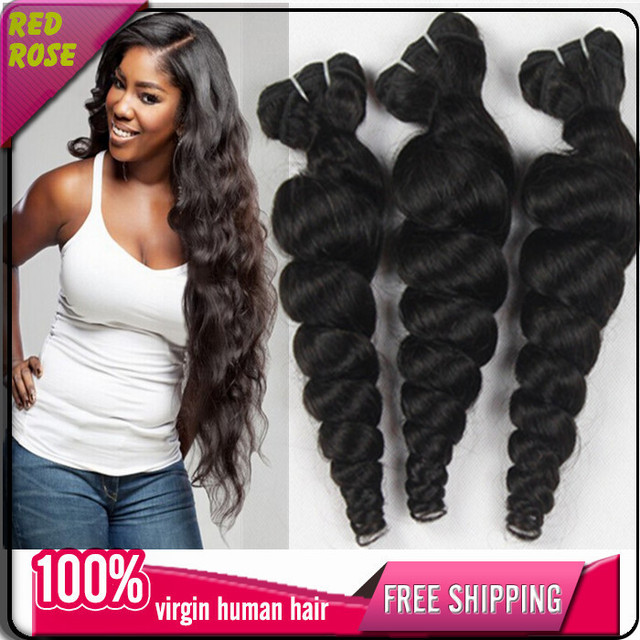 Ali Moda 7a Mongolian Loose Wave Tangle Free Cheap Human Hair Weave