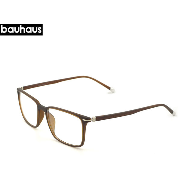 bauhaus limited wide eyeglasses frame full rim men optical frame with ultem temple wide big face - Wide Eyeglass Frames