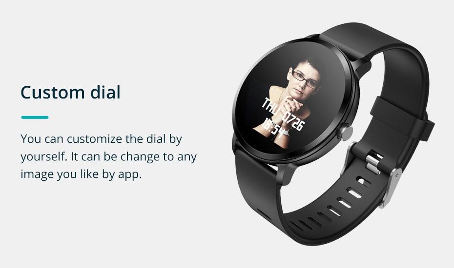 COLMI V11 Smart watch IP67 waterproof Tempered glass Activity Fitness tracker Heart rate monitor BRIM Men women smartwatch 9-