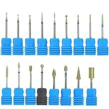 1 шт. стальное сверло для ногтей для электрического маникюрного станка, аксессуары, шлифовальный резак 3/32 дюйма, инструмент для маникюра, SAjg01-17