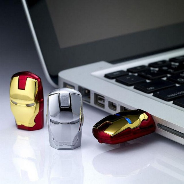 Iron Man pendrive USB Flash Drive 64GB 32GB 16GB 8GB 128GB