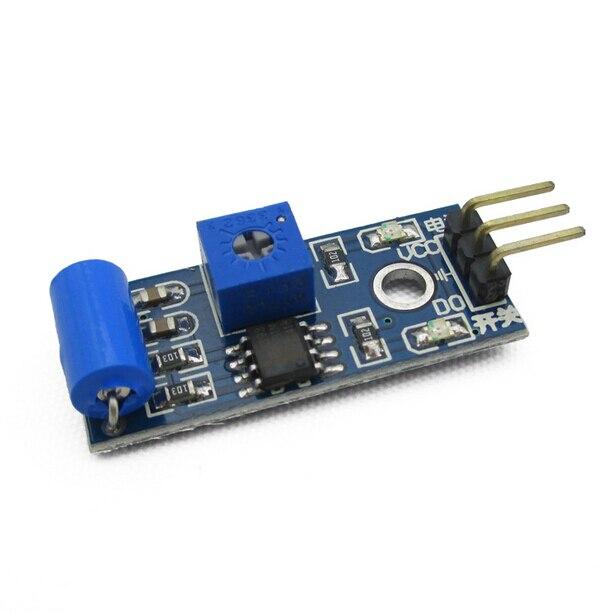 SW-420 Alarm Vibration Sensor Modul Normalerweise Geschlossen Vibrationsschalter SW420 Für Arduino Rapsberry Pie Starter Lernprojekt Kit
