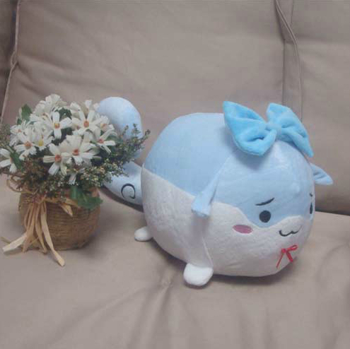 Touhou Project Sukusuku Hakutaku Kamishirasawa Keine Cosplay Plush Doll Toy 14