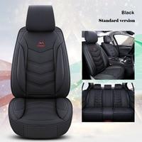 Universal car seat cover leather for opel astra h j insignia corsa meriva mokka vectra b c zafira Interior accessories for cars