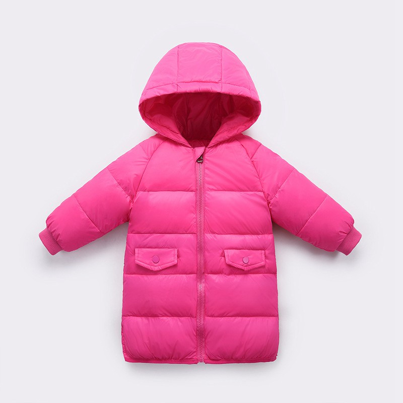 CROAL CHERIE 90% Down Winter Coat For Kids Girls Boys Long Warm Kids Boys Winter Jacket Thicken Toddler Girl Winter Clothes   (10)