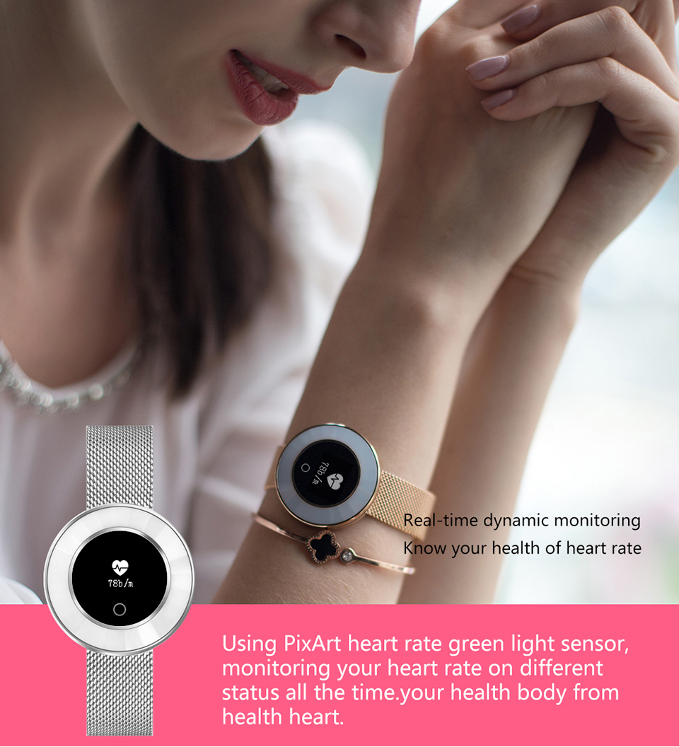women smart fitness bracelet X6_16