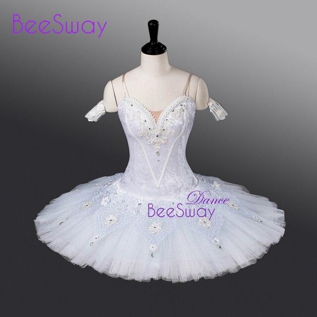 beb9ed82a8 Balé vestido branco mulheres ballet Panqueca Tutus de ballet Clássico tutu  Branco Cisne lago dança figurinos