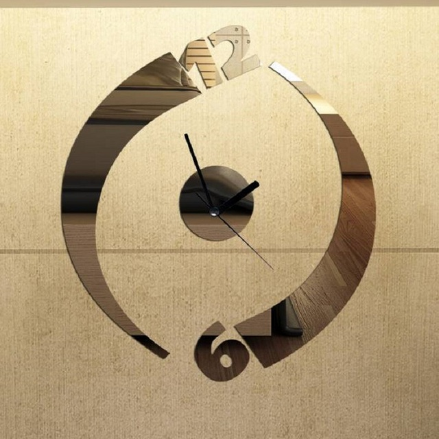 ad6dec2cef3 Relógio Relógio Relógio de Parede Relógios Digitais Reloj Duvar Saati Saat  Horloge Murale klok acrílico cozinha
