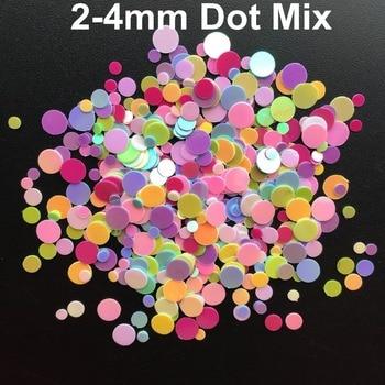 21d120ef54 20g 1-4mm Dot Shape PVC loose Sequins Glitter Paillettes for Nail