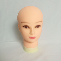 Mannequin Head Fake Head Wig Stand Doll Head Quality Soft Small Head Cosmetic Practice Head Maquillaje