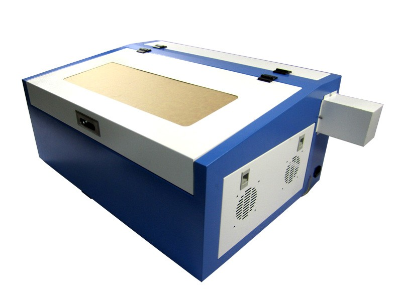 110V/220V laser cutting machine rubber stamp with blue and white color