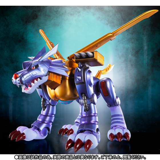 Digimon Original BANDAI Tamashii Nations S.H.Figuarts SHF Exclusive Action Figure- Metal Garurumon Original Designers EditionDigimon Original BANDAI Tamashii Nations S.H.Figuarts SHF Exclusive Action Figure- Metal Garurumon Original Designers Edition