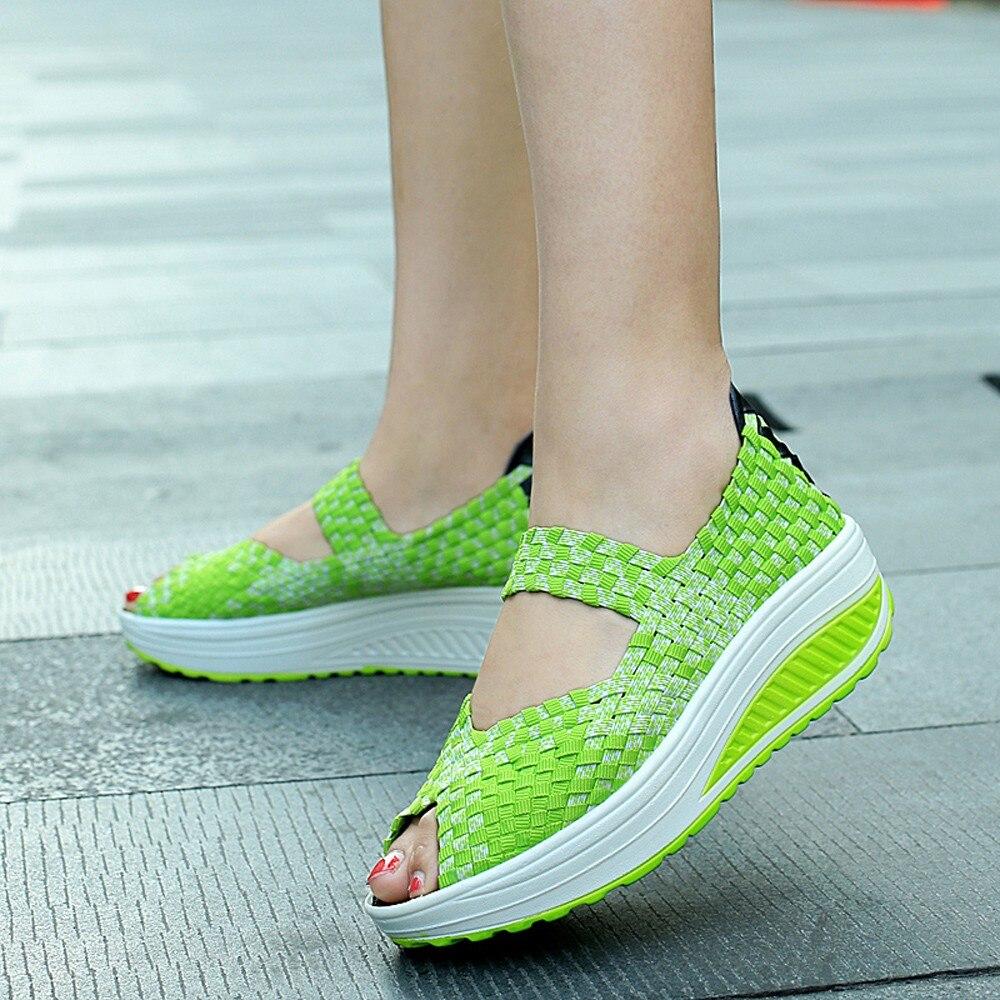Women Sandals Summer Open Toe Sport Sandalias Trainers Sneakers Casual Swing