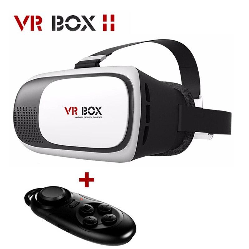 2016 Google Cardboard <font><b>VR</b></font> <font><b>BOX</b></font> 2.0 Virtual Reality Oculus Rift 3D <font><b>Glasses</b></font> for 3.5-6.0 Phone+ Wireless Bluetooth Controller Gamepad