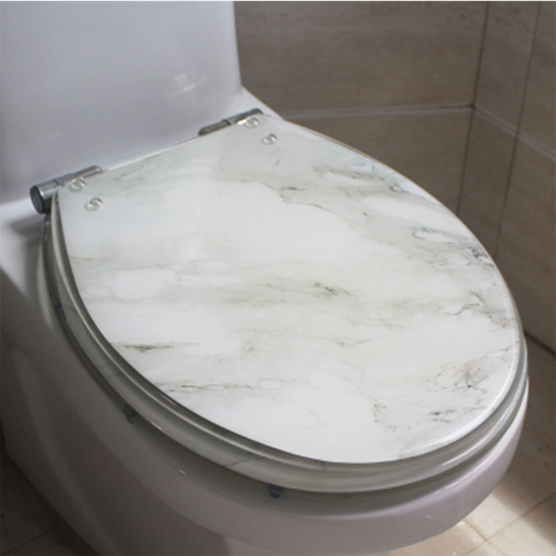 Unique High Quality Resin Beautiful Sea World Design Toilet Seat Cover Set Universal Toilet Cover With Lid Many Color For Choice