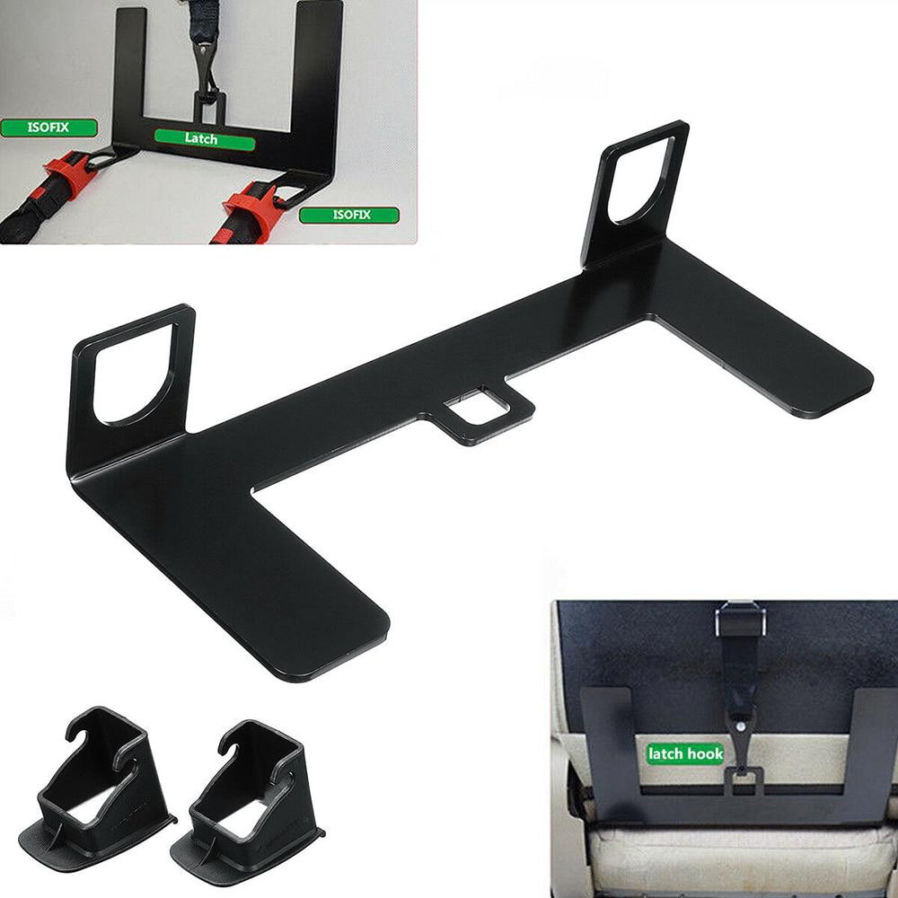 Universal ISOFIX Mount Base SUV Car Safety Seat Belt Bracket Latch 5mm Steel 1x