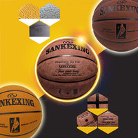 New Basketball Boys Leather Ball Wear Resistant for SANKWXING Toys Durable Textured Sport Non Skid