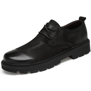 Image 2 - Clax mens leather shoes 정품 가죽 봄 가을 디자이너 남성 캐주얼 워킹 footwar 겨울 모피 chaussure homme plus size