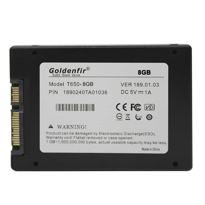 SSD de 8GB 16GB 32GB Goldenfir hdd disco duro de estado sólido ssd 32gb para pc
